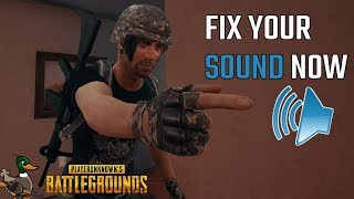 FIX YOUR PUBG SOUND NOW (with Windows 10 1803 and Voicemeter Banana)