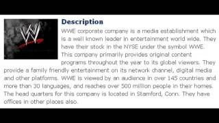 WWE Corporate Office Contact Information