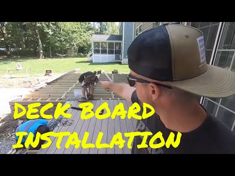 The Best Way To Install Deck Boards - 3rd Ave Project