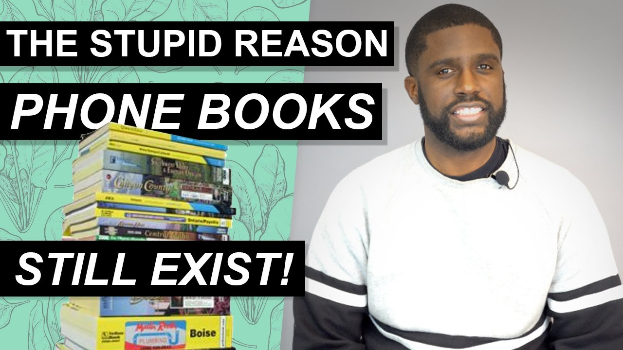 Download Phone Books Still Exist. Here's the Stupid Reason Why.   Retro Marketing