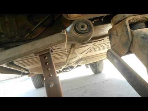 VW Super Beetle front end shake fix