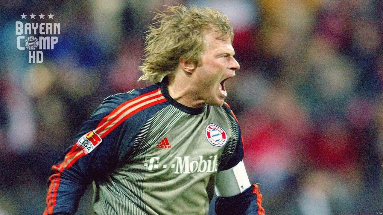 Oliver Kahn Titan Legendary Goalkeeper Youtube