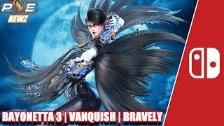 Nintendo Switch - Bayonetta 3, Vanquish PC Teased? Bravely Sales + New NS Games! | PE NewZ