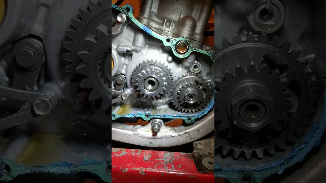 2007 crf250r top dead center timing setting. - YouTube
