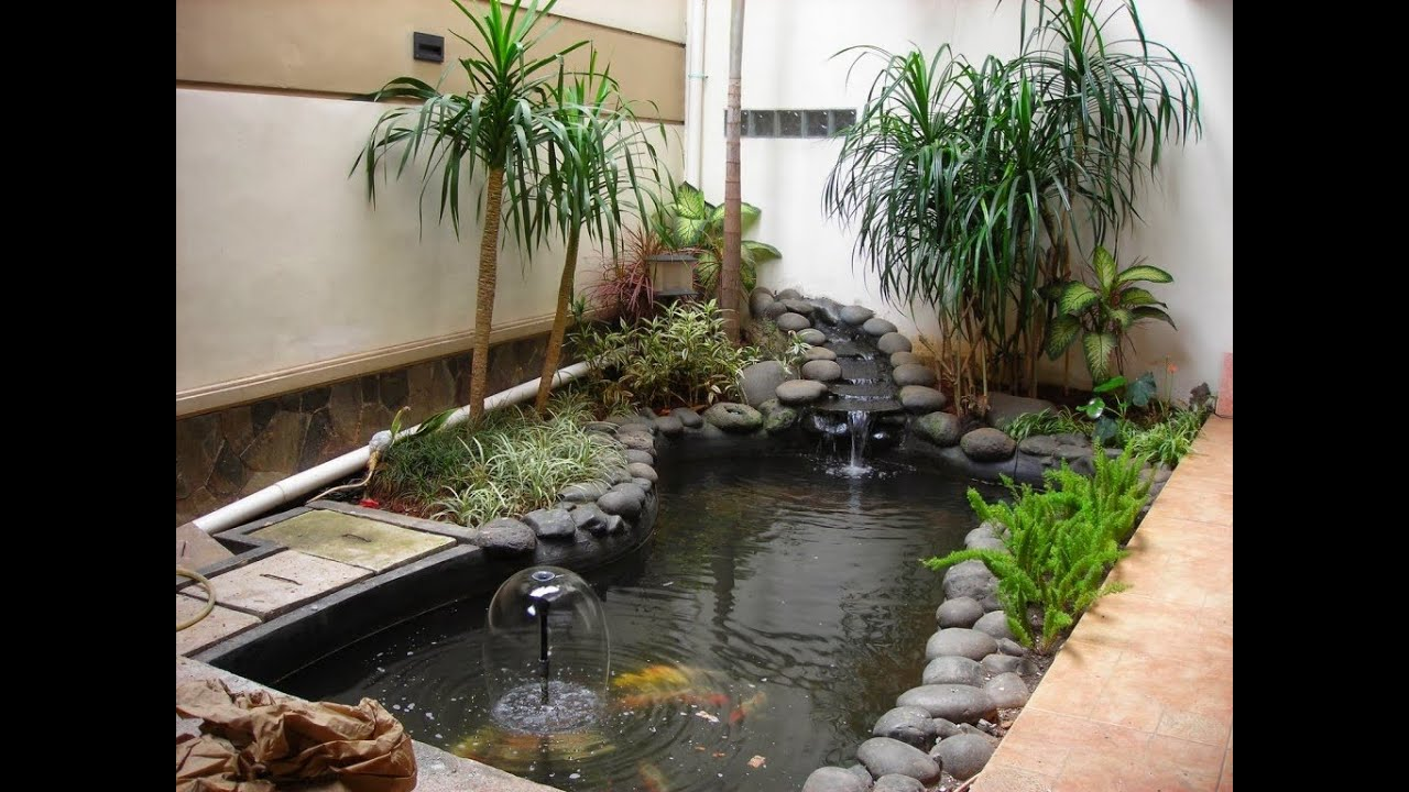 Outside Fish Pond Ideas