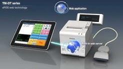 Epson TM-T88V-DT web-valmis kuittitulostin