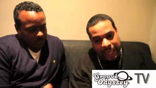 GROOVE ODYSSEY - INTERVIEW BACKSTAGE ON THE GROOVE ODYSSEY COUCH WITH MR V