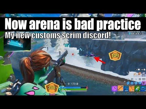 Epic Ruined Arena Mode Practice! (New Scrim Discord)
