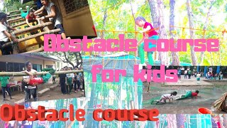 Obstacle Course For Kids Girl Scout