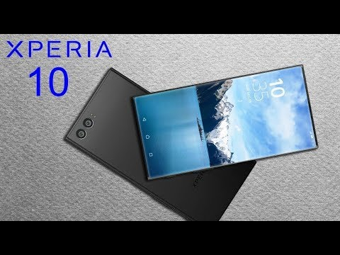 SONY Xperia 10, Specifications, price and release