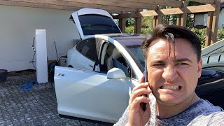 LIVE Coșmar cu Tesla Model X