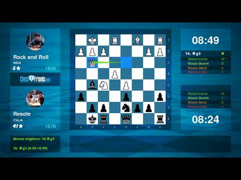Chess Game Analysis: Rock and Roll - Resole : 1-0 (By ChessFriends.com)