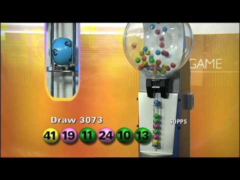 Australian Lotto Draw 3073 - Fri 101231