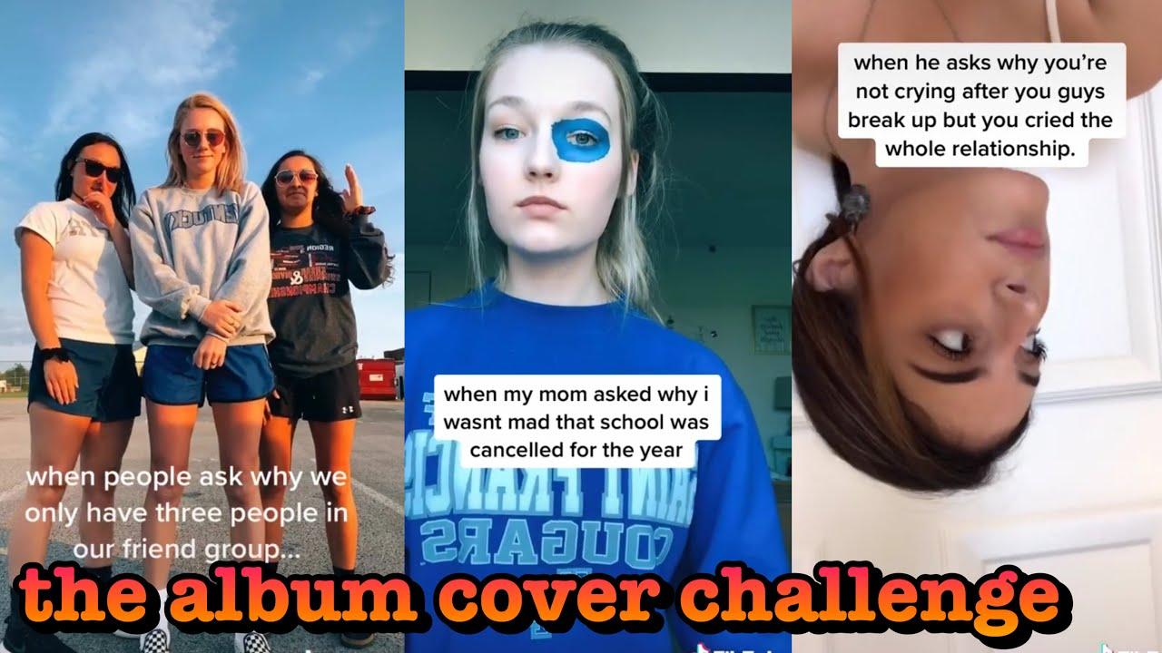 The Album Cover Challenge Tik Tok Youtube