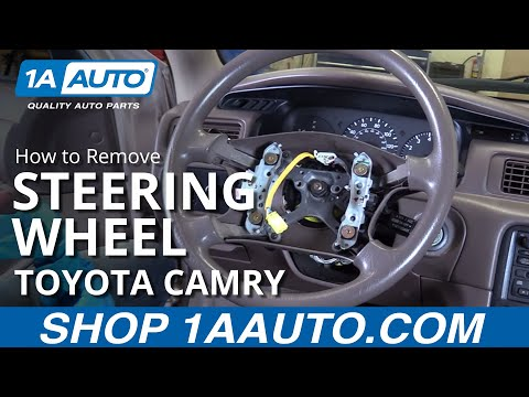 How to Replace Steering Wheel 97-01 Toyota Camry