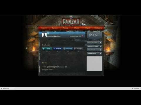 видео: РЕГИСТРАЦИЯ panzar - cкачать игру panzar