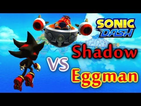 Sonic Dash - Shadow VS Eggman [Widescreen / Landscape]