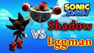 Sonic Dash - Shadow VS Eggman [Widescreen / Landscape]