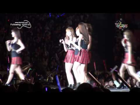 [Fancam] 100911 SNSD - Hahaha Song - SM Town Live 10 in Shanghai