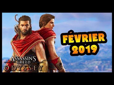 LE CONTENU DE FÉVRIER : New Game +, niveau 99 et plus (Assassin's Creed Odyssey) thumbnail