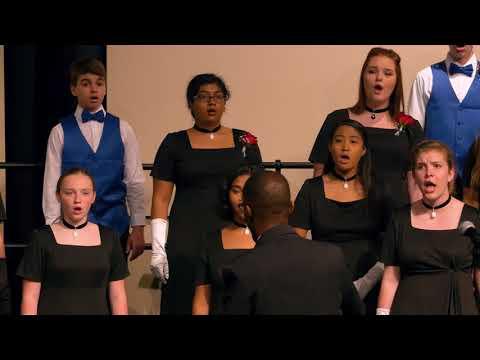 Glory Hallelujah to the Newborn King - Stone Bridge High School Chorus - Spring Concert 2018