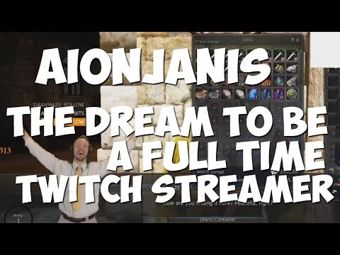 A Twitch Streamer with a Dream
