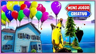 BATALLA DE GLOBOS *UP* (FORTNITE MINIJUEGOS)
