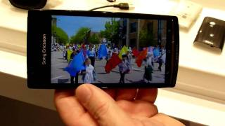 Sony Ericsson Xperia arc Demo