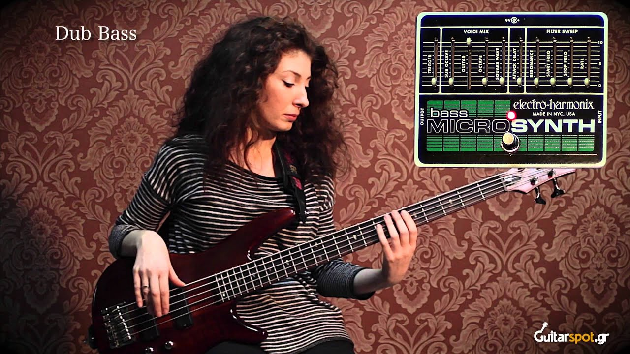 bass micro synth electro harmonix review guitarspot gr youtube. Black Bedroom Furniture Sets. Home Design Ideas