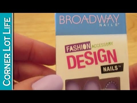 The BEST fake nails EVER and cheap!!! | Broadway Nails - YouTube