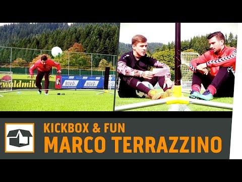 Fußball-Tennis vs. Marco Terrazzino |SC Freiburg | Fun-Challenge |Kickbox