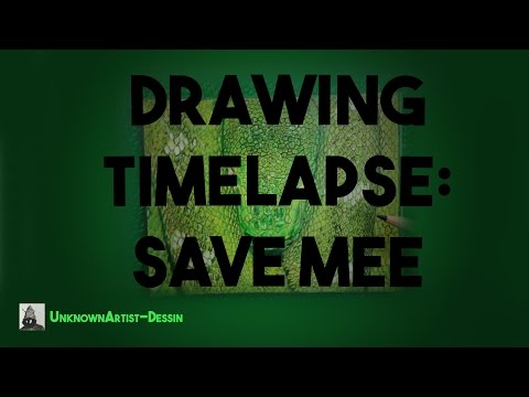 DRAWING TIMELAPSE: Save mee Mp3