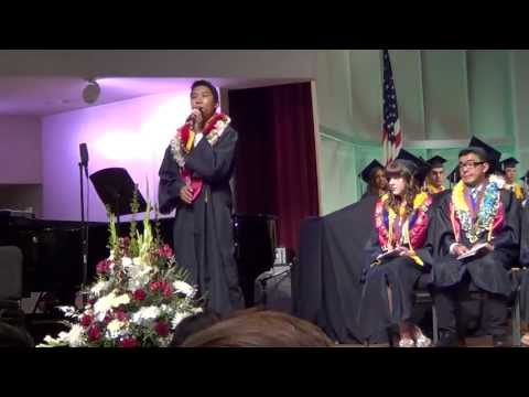 Loma Linda Academy Consecration 2013 - Chase Atiga