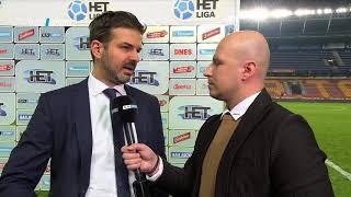 Andrea Stramaccioni rozhovor (Sparta - Plzeň 0:1)