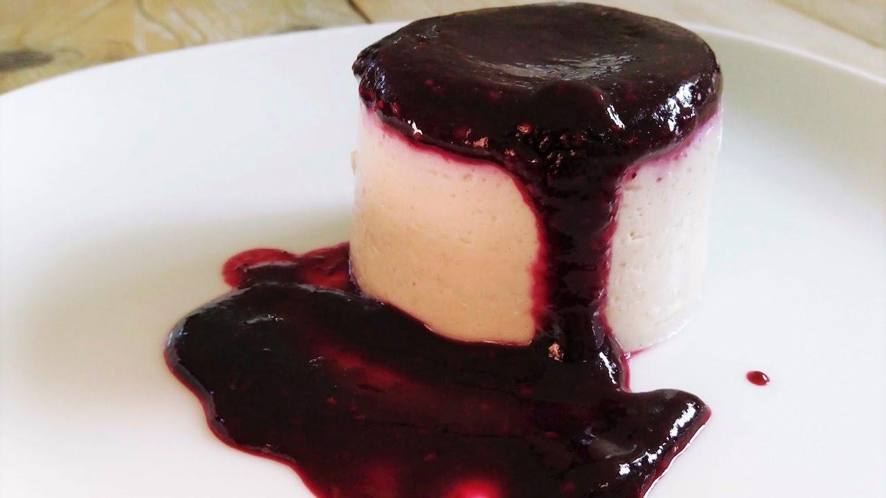 Rezept: Panna Cotta mit Seidentofu (100% vegan) - YouTube