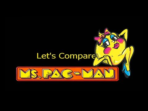 Let's compare ( Ms. Pac-man )