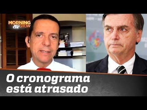 Jose Maria Trindade: cronograma do Governo está atrasado
