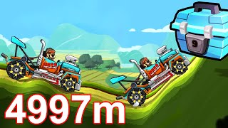 Hill Climb Racing 2: Racing Truck 4997m Countryside Part 4 (iOS, Android)