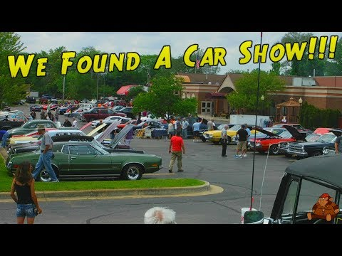 FROM OLD SCHOOL MUSTANGS TO BEL AIRS, WE FOUND A CLASSIC CAR SHOW!!! (CM40 Vlog)