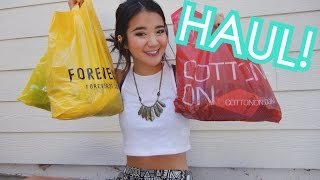 HAUL: Forever 21, Cotton On, Shoplately, Q Thumbnail