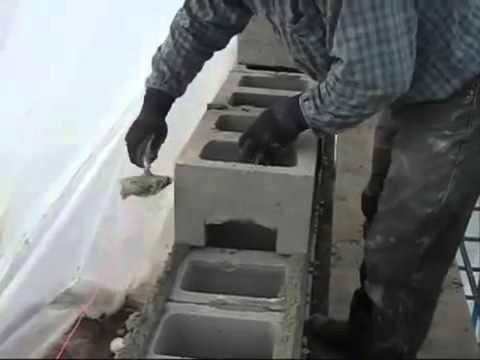 Кладка блока керамзитобетон цена vinilam ceramo бетонная смесь
