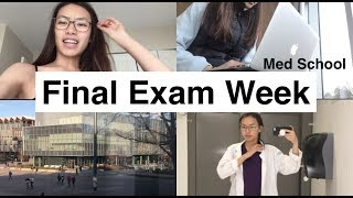 Vlog: Final Exam Week | MED SCHOOL