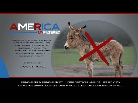 America Unfiltered - - Augusta Citizens Express Problems with the Democratic Party