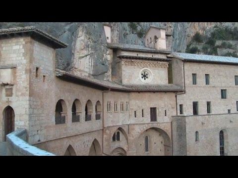 San Benedetto Monastery in Subiaco, Santa Scolastica, Benedictine Monasteries!