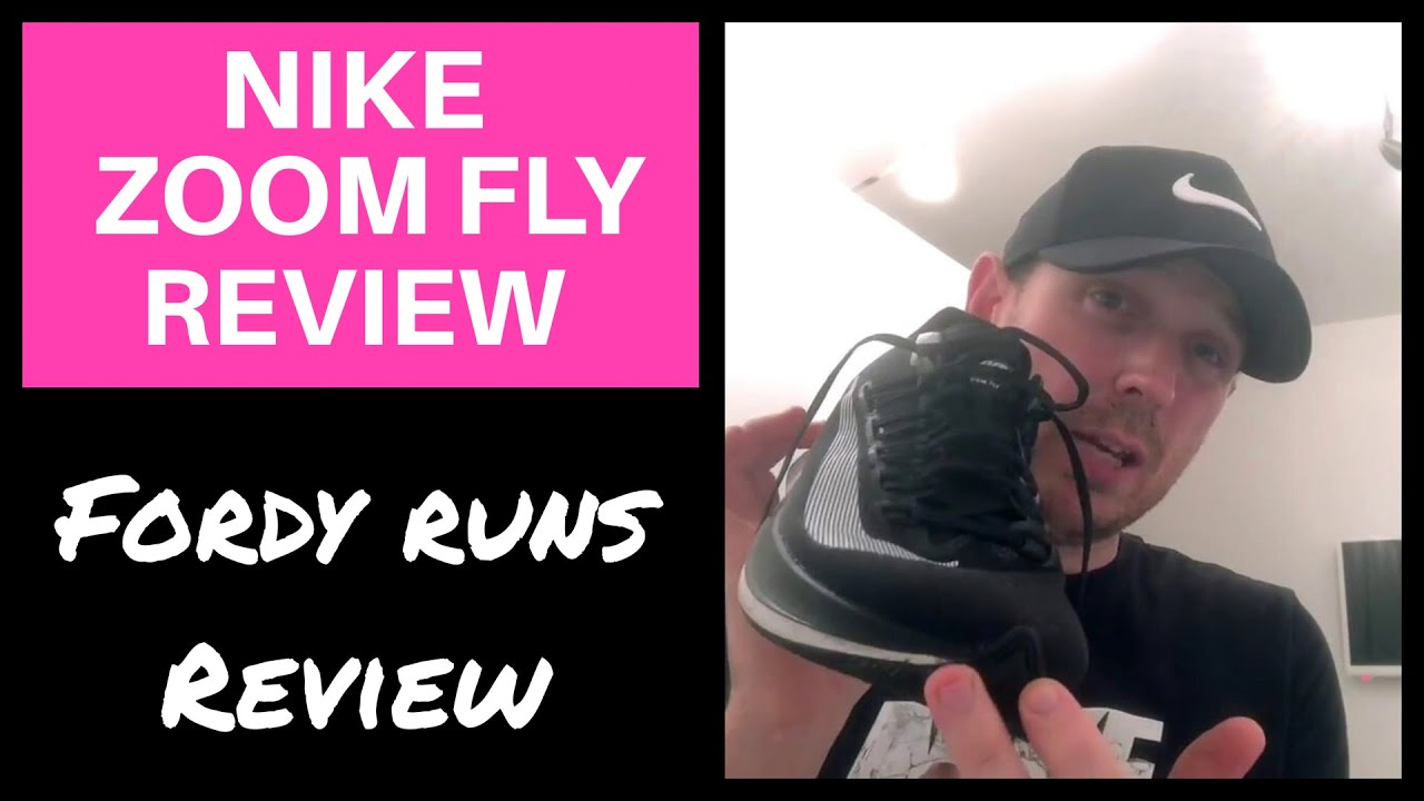 NIKE ZOOM FLY REVIEW - My Fastest Running Shoe  - YouTube 82835e3d6