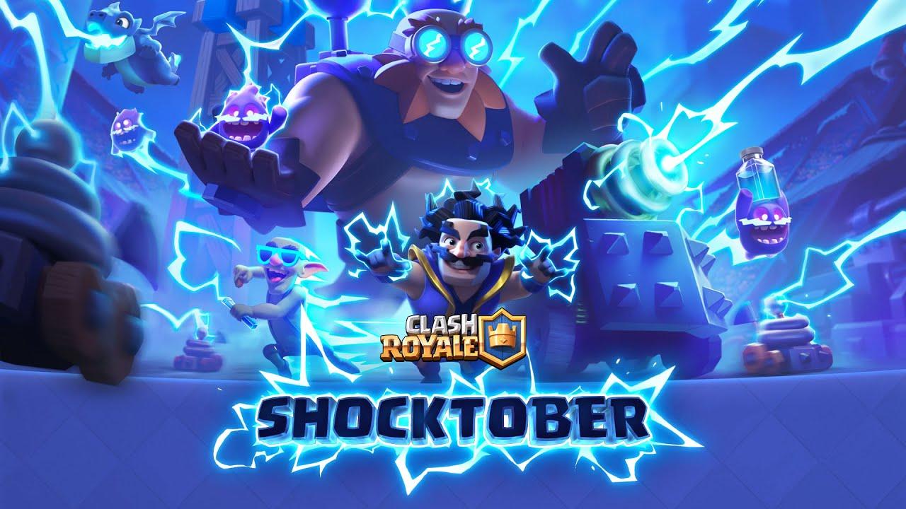 Clash Royale: ⚡️¡Electrízate en Shocktober! ⚡️ (¡Nueva temporada!)