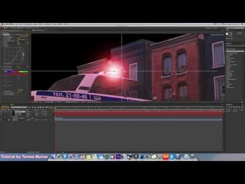 AE Tutorial Pt 1 Police Flashing Lights, Turn Still Photo Into Video