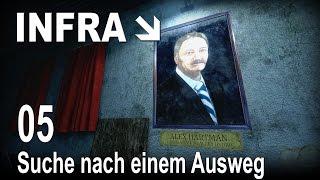 INFRA [05] [Suche nach einem Ausweg] [Let's Play Gameplay Deutsch German] thumbnail