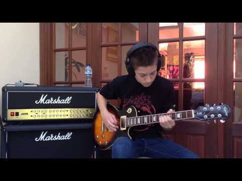 Slash Guitar Cover, Watch This by Ashley Freeman.