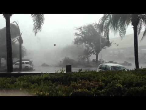 RAW VIDEO: Rain Storm hits Riverside